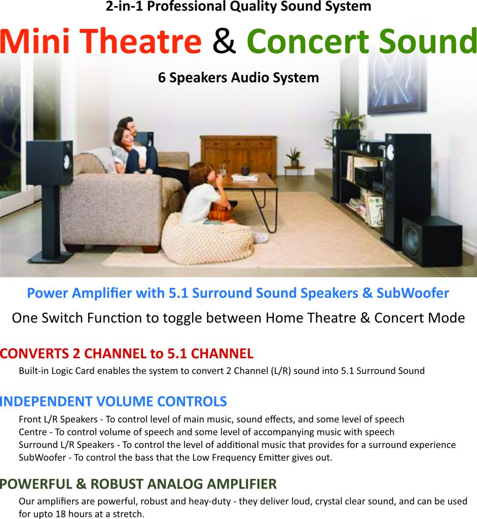 Impereal Audio Dulcet Home Cinema